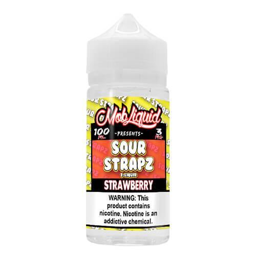 Sour Strapz eLiquid - Strawberry - 100ml / 6mg