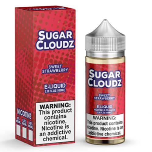 Sugar Cloudz eJuice - Sweet Strawberry - 100ml / 3mg