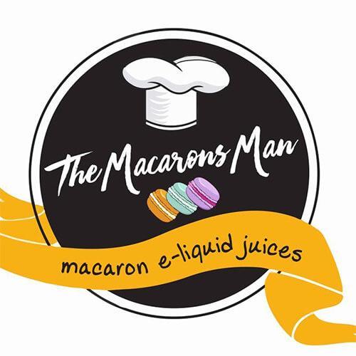 The Macarons Man eJuice - Salted Caramel Strawberry - 60ml / 0mg