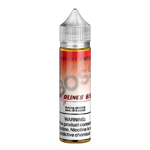 The Original Boss eJuice - Deadlines 8/8 - 60ml / 0mg