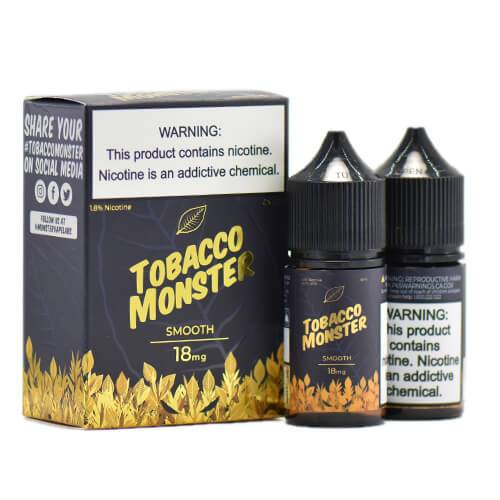 Tobacco Monster eJuice - Smooth - 2x30ml / 0mg