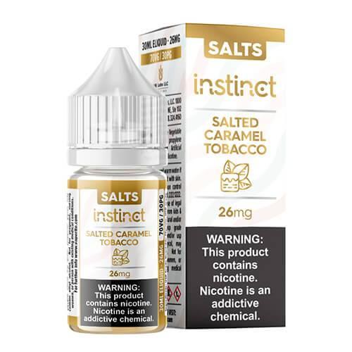 VR Labs SALTS - Instinct Salted Caramel Tobacco - 30ml / 18mg