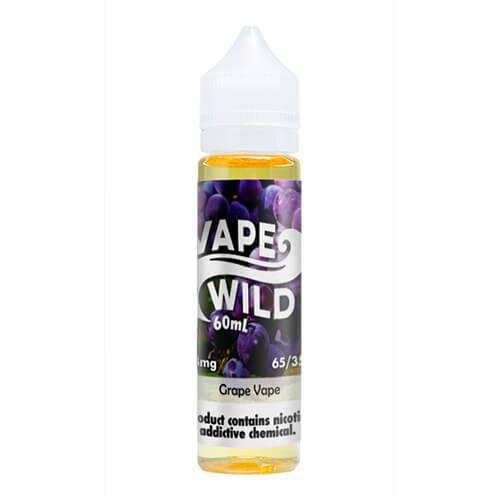 VapeWild eJuice - Grape Vape - 60ml / 12mg