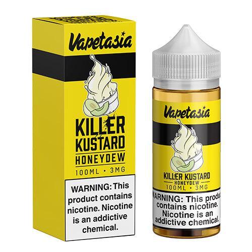Vapetasia eJuice - Killer Kustard Honeydew - 100ml / 6mg