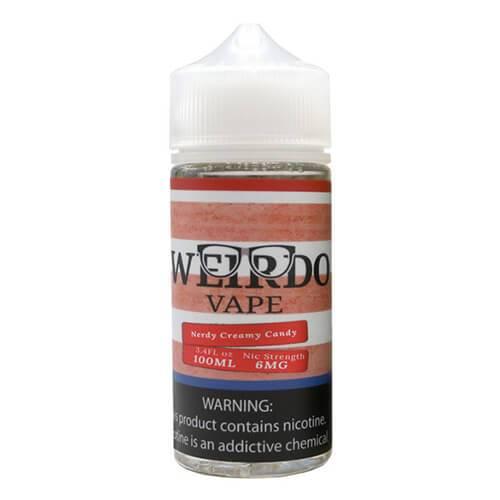 Weirdo Vape - Nerdy Creamy Candy - 100ml / 6mg