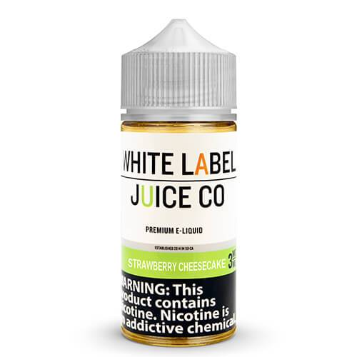 White Label Juice Co - Strawberry Cheesecake - 30ml / 0mg