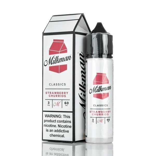 Strawberry Churrios by The Milkman - 60ml