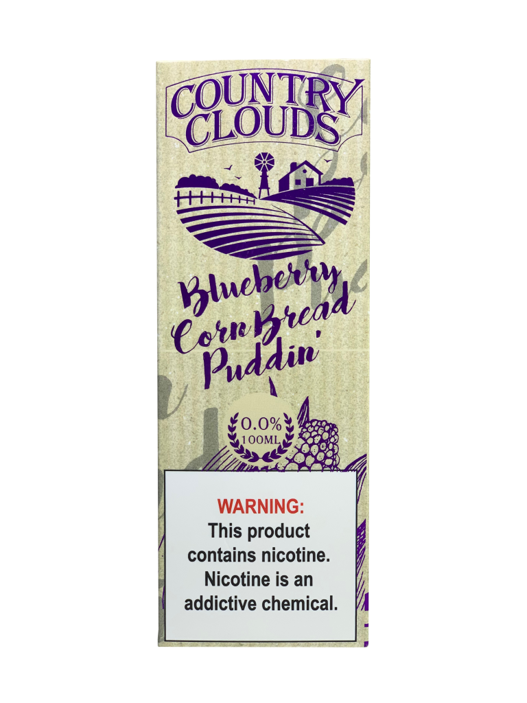 Blueberry Corn Bread Puddin' by Country Clouds - 100ml
