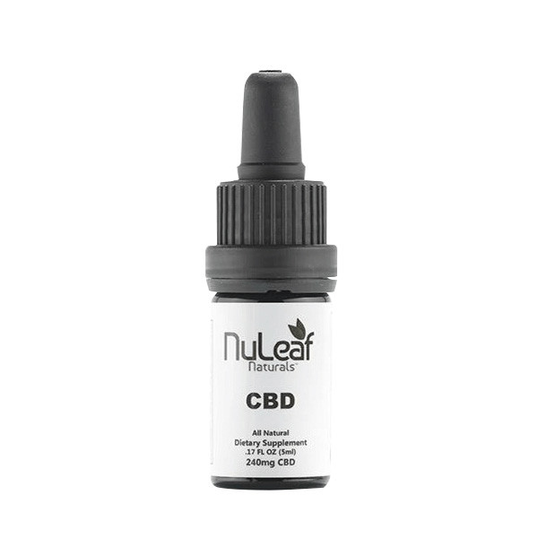NuLeaf Full Spectrum CBD Oil Tincture (5mL)