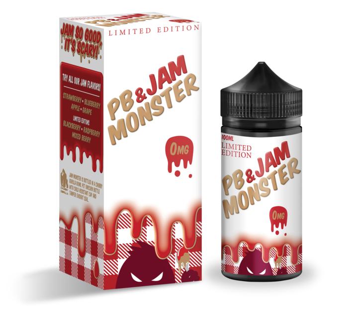 PB & Jam Monster Strawberry - 100ml