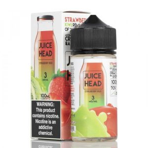 Juice Head Freeze Strawberry Kiwi E-liquid (100 mL)
