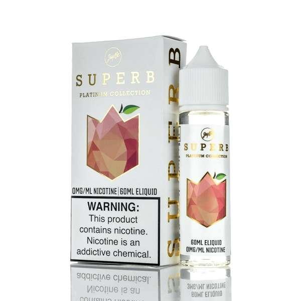 Superb x JayBo Platinum White Peach E-liquid (60mL)