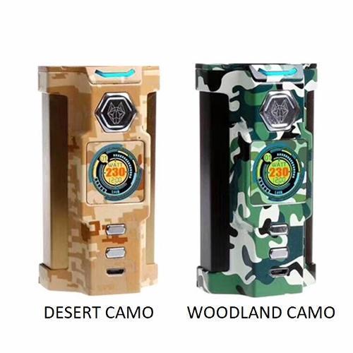 Sigelei SnowWolf Vfeng 230W Box Mod Only - Desert Camo